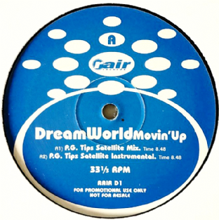 "Dream World - Movin' Up (12"") (Promo) (VG-/NM)"